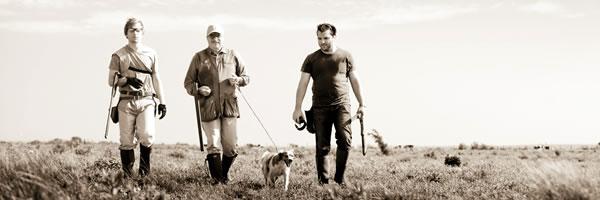 Hunting perdiz